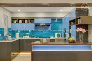 Modular kitchen design kerala