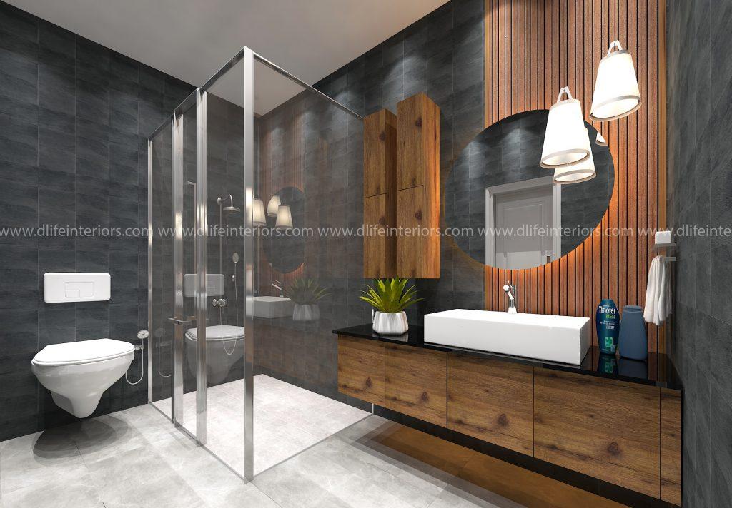 Bathroom storage & Shower Partition Ideas
