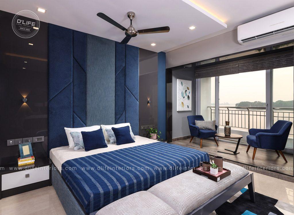 bedroom interiors indian producer shebin backar home in kerala by dlife interiors